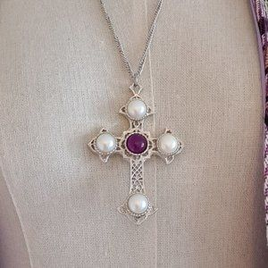 Vintage 70's Sarah Coventry Necklace